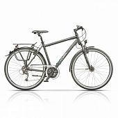 "Велосипед 28"" CROSS Avalon Man Trekking 24 spd рама 19"" 2015 серый"